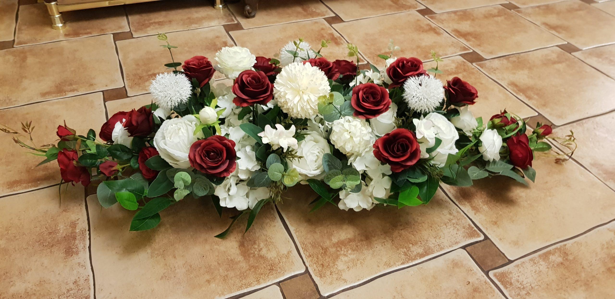 Przykładowa dekoracja weselna